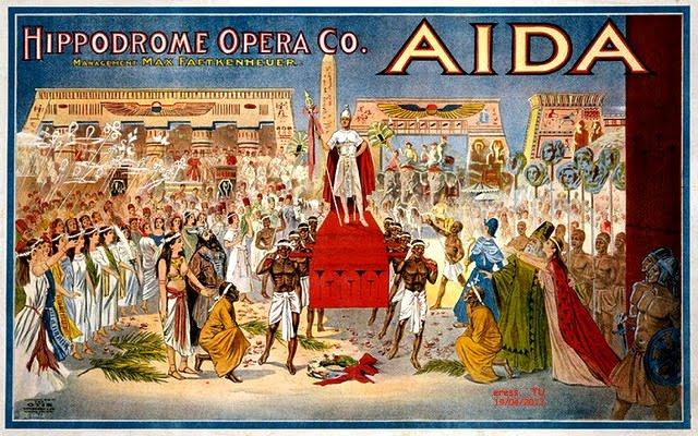 AIDA DE VERDI - TUVO EXITO EN ESTRENO EN EL CAIRO 24/12/1871 (clic en la foto)