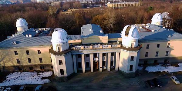 «Глубокий Космос 2015 II» | Государственный Астрономический Институт имени Штернберга с высоты полета Октокоптера