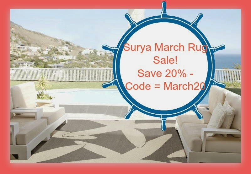 Surya March Rug Sale!