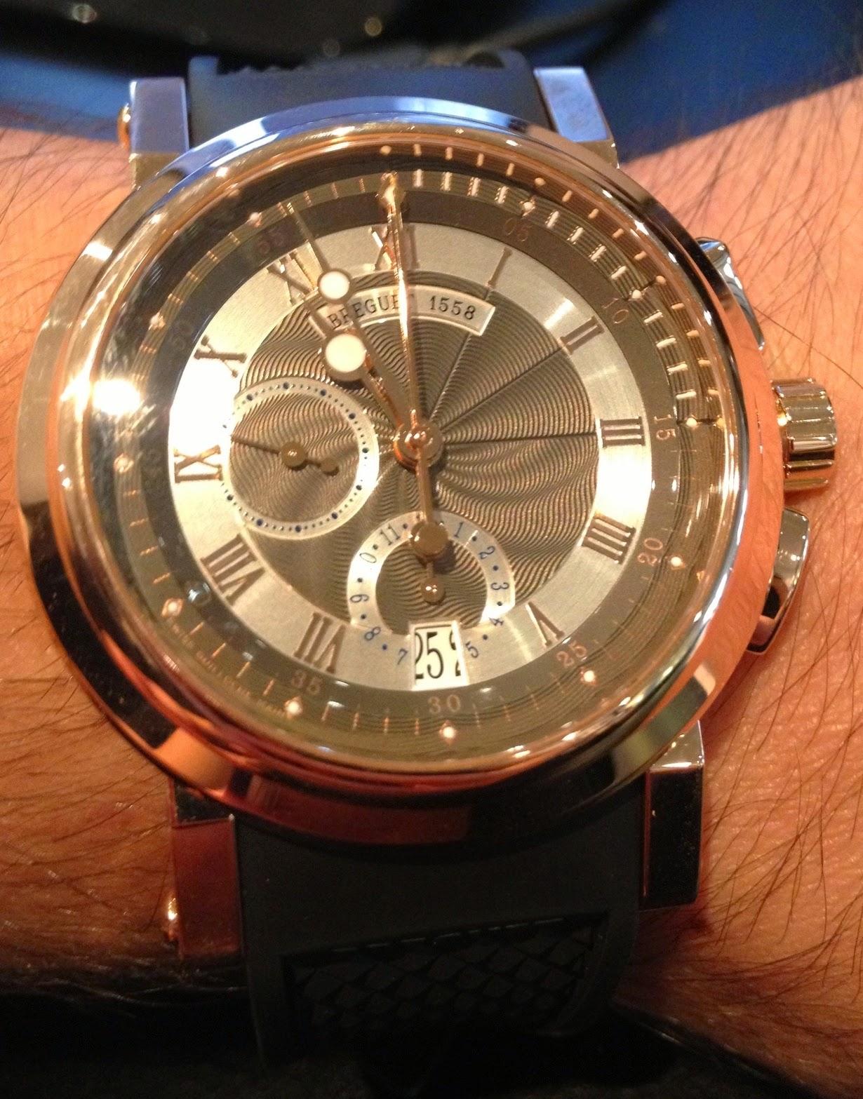 Montre Breguet Marine Chronographe