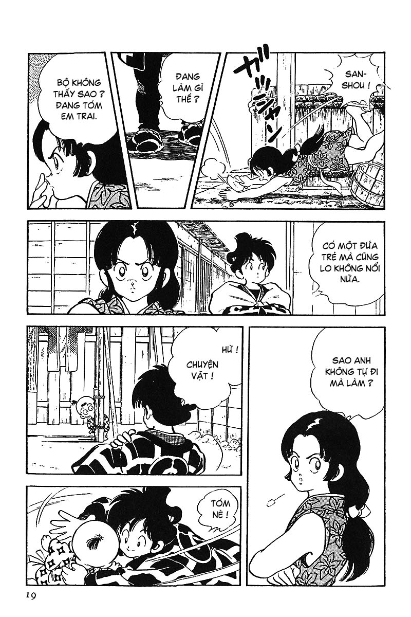 Nijiiro Togarashi - Ớt Bảy Màu chap 1 - Trang 21