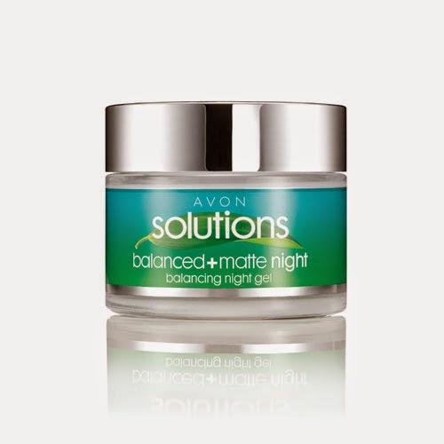 Crema gel da notte Balanced Matte di Avon Solutions