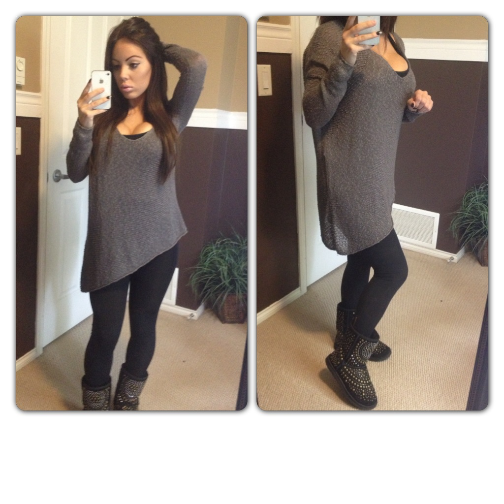 Cute Outfits With Uggs And Leggings