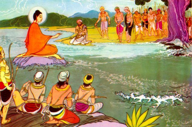 Kết quả hình ảnh cho buddha lotus panting