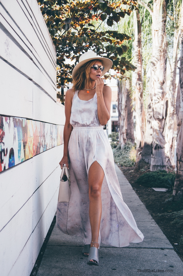 maxi dress, summer style, big hat, panama hat, straw hat, blogger, fashion blogger, top fashion blogger, best fashion bloggers, blonde fashion blogger.