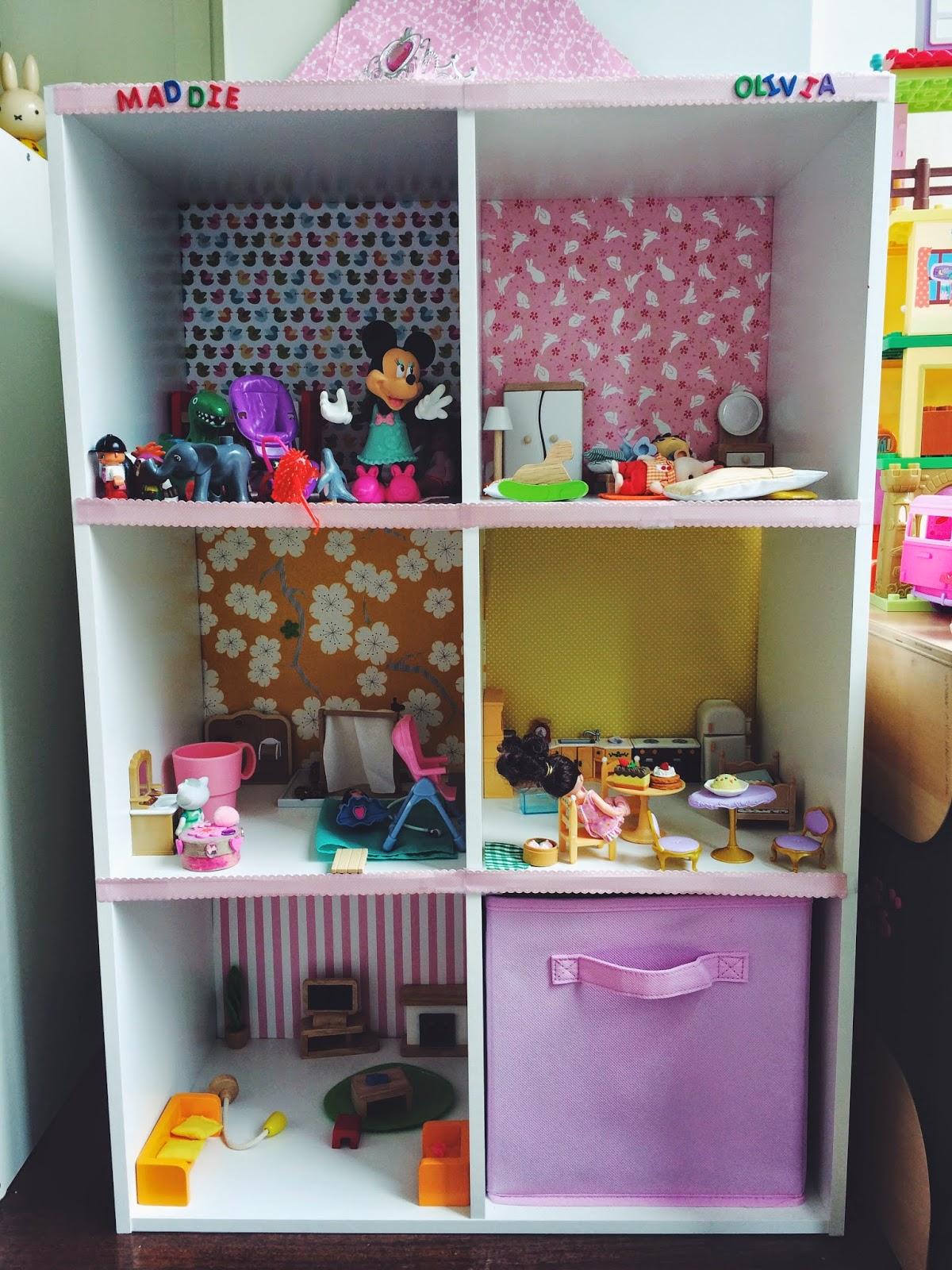 Simply Inter Nos Diy Bookshelf Dollhouse