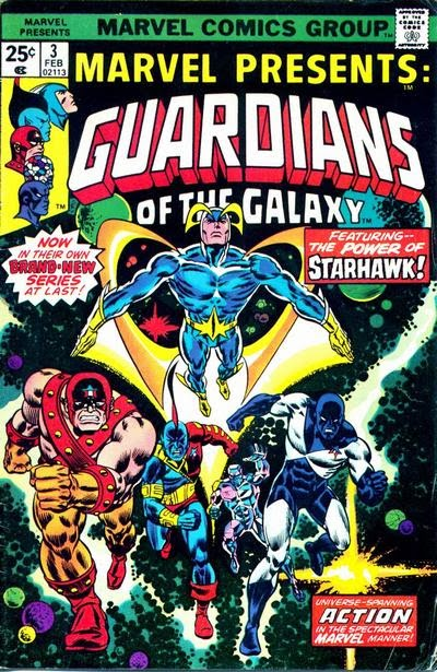 Marvel Presents #3, the Guardians of the Galaxy