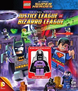 Lego DC Comics: Justice League Vs. Bizarro League (2015) DVDRip Español Latino