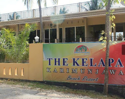 the kelapa resort beach