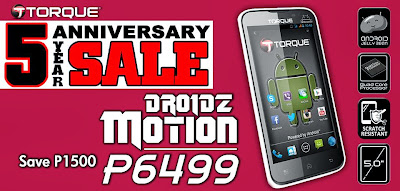 Torque DROIDZ Motion Specs and Price Discounts!