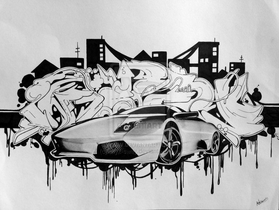 Draw Cool Graffiti Art