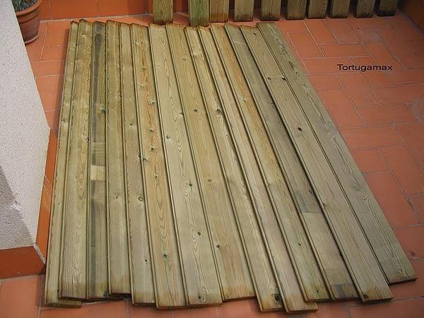 Listones de madera medidas y precios materiales de - Listones de madera para exterior ...