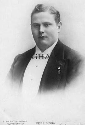 Prince Gustav de Danemark 1887-1944