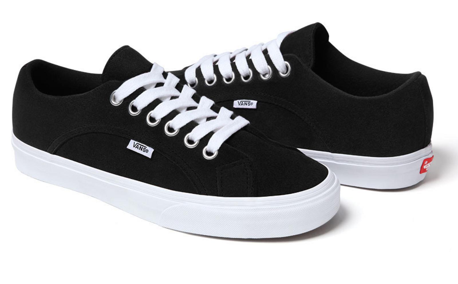 supreme x vans lin sneaker release solifestyle