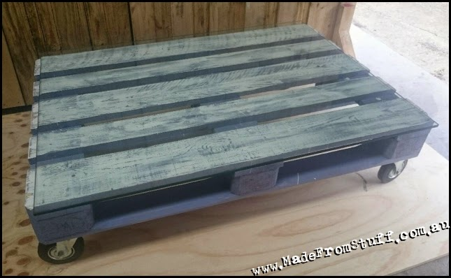 Made from stuff purple pallet coffee table 225 for Purple coffee table