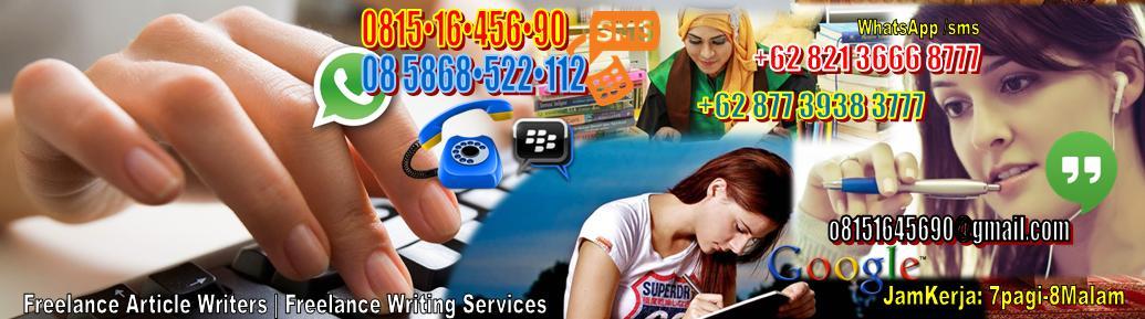 08 58•68•522•112 || PIN BBM: 2C0A3228 || Freelance Writing Services - Jasa Skripsi Jakarta