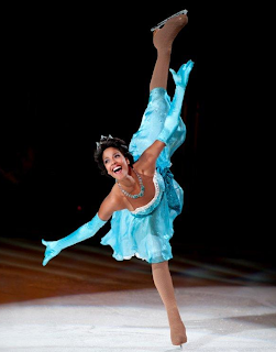 disney on ice tiana skating
