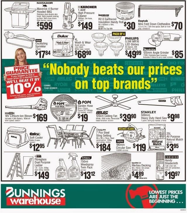 Bunnings catalogue for Gardening tools bunnings