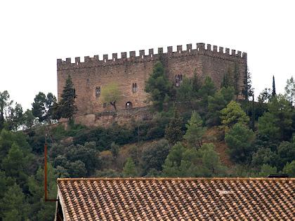 El Castell de Balsareny des de Cal Roqueta