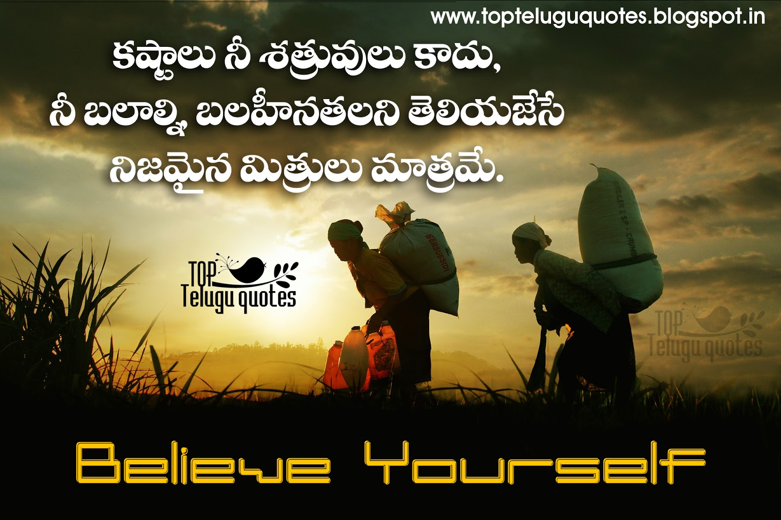 telugu best quotes images on life all top