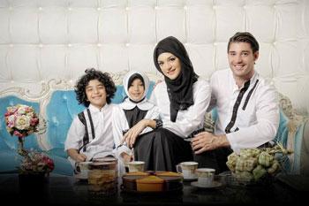 baju muslim sarimbit keluarga terbaru