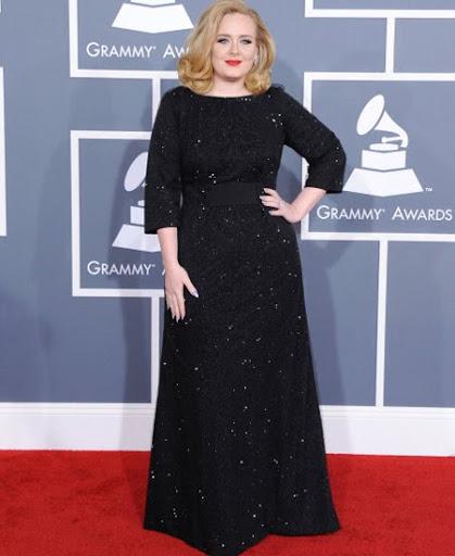 Адел с рокля на Armani Prive Грами 2012