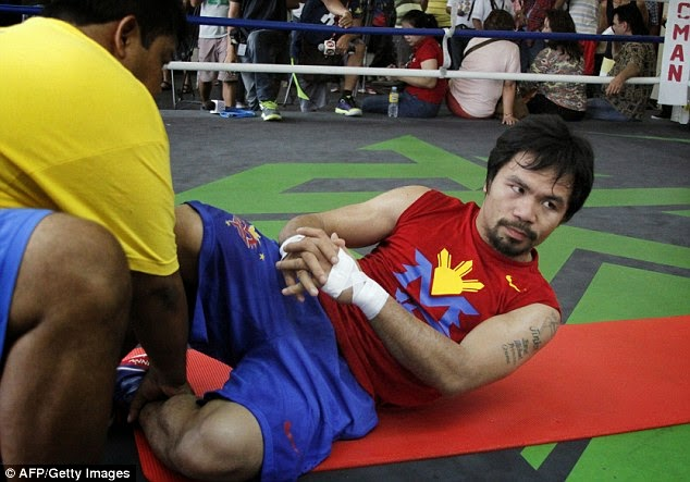 Manny Pacman Pacquiao Training