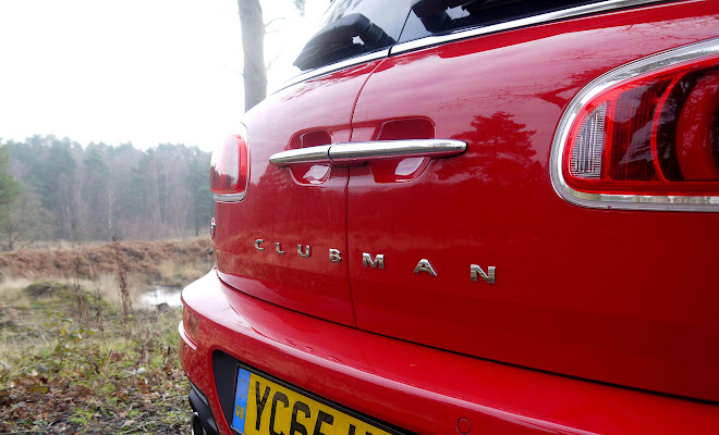 Mini Clubman badge
