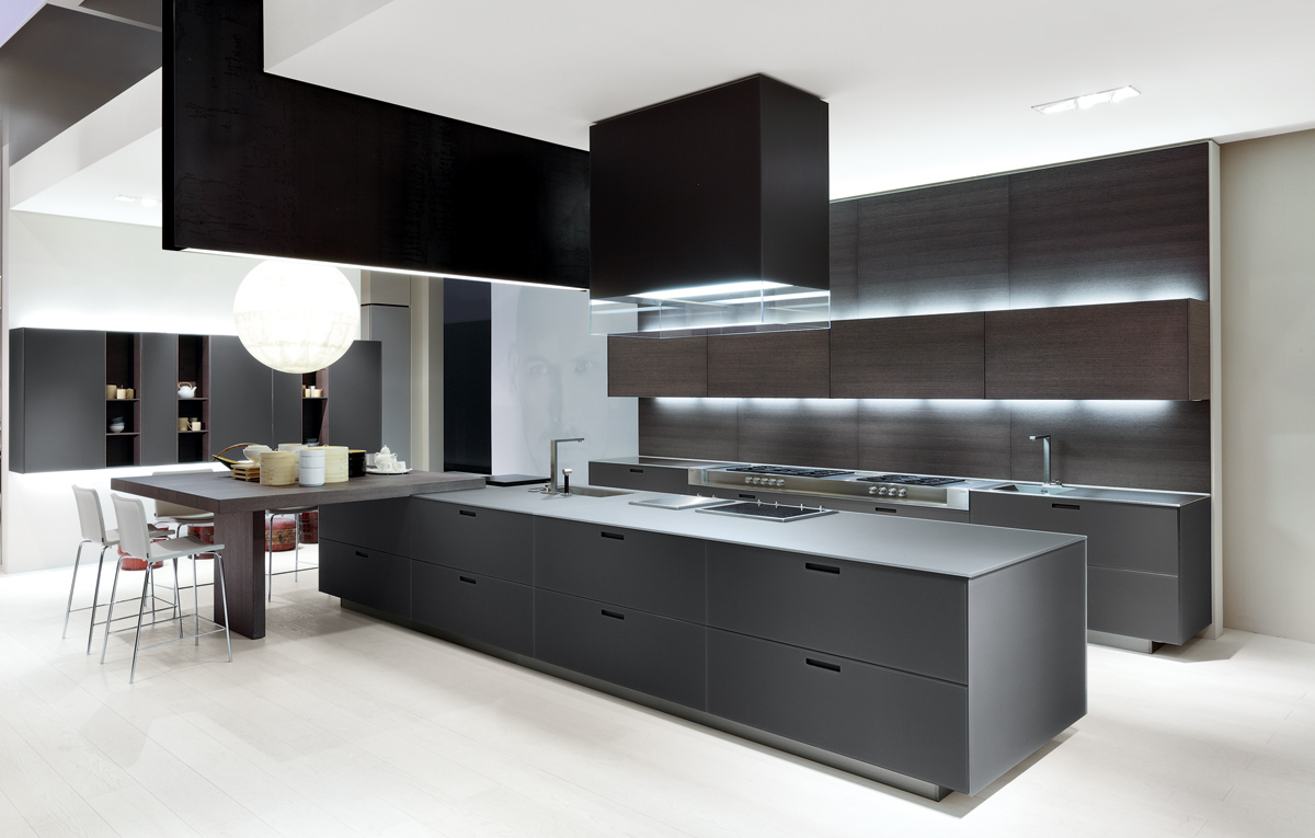 Kyton varenna poliform giving simplicity and freedom for for Islas para cocinas integrales