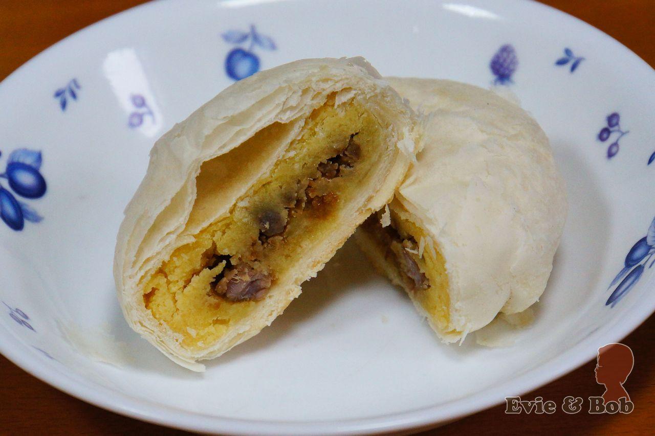 丙級 中式麵食加工 酥油皮麵類 - 綠豆椪(凸)