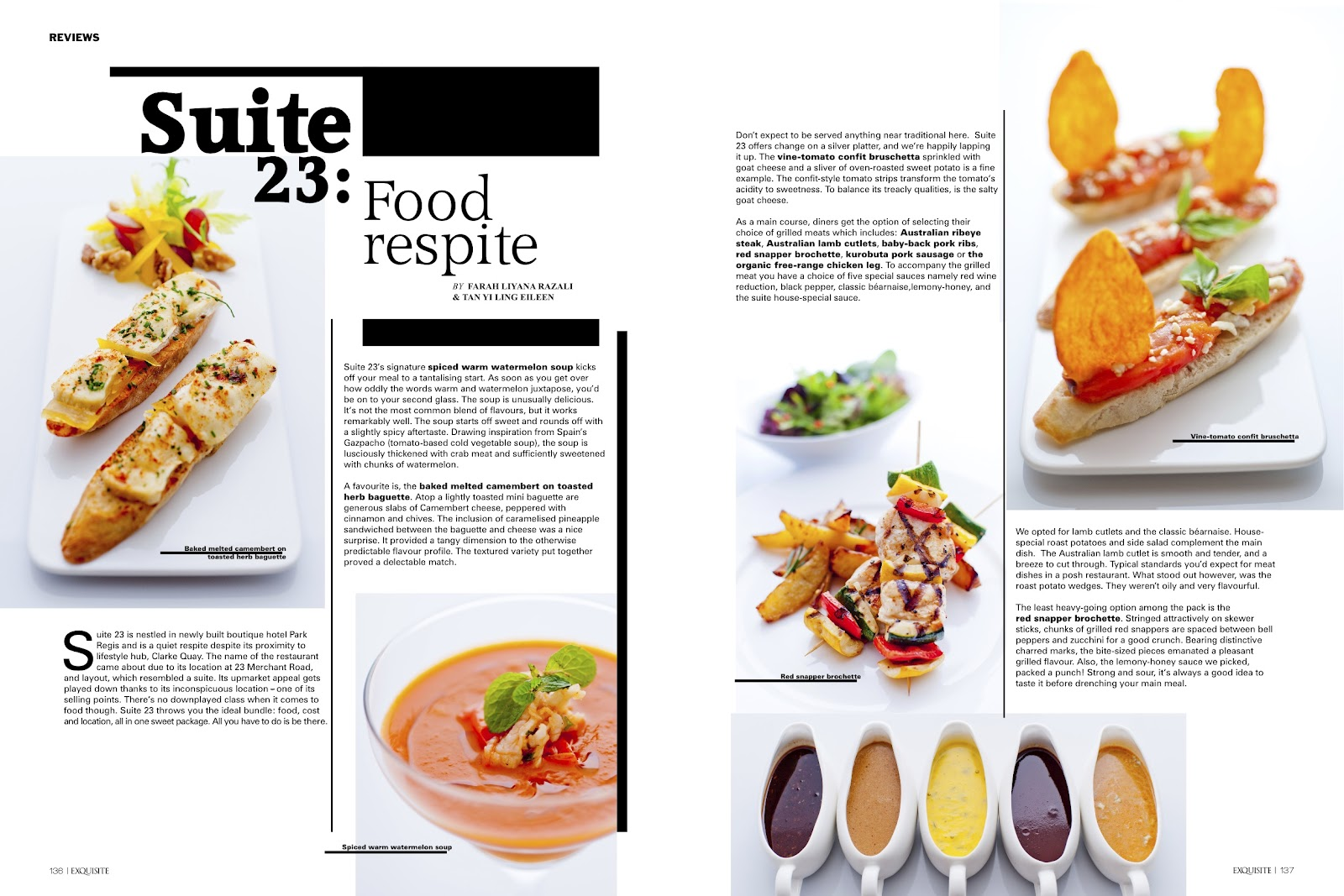 Articles published in november 2011 written works for Articles cuisine