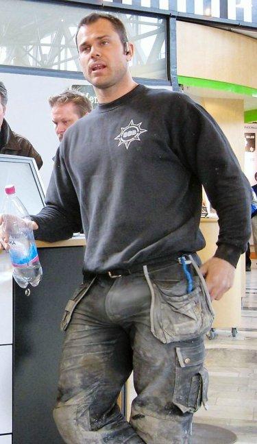 Unzipped Pants Powerful 56