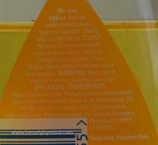 information, ingredients