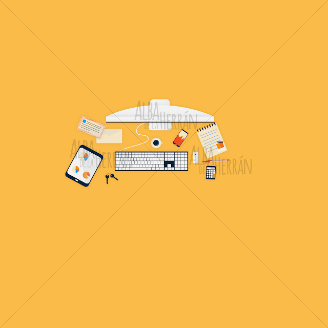 best vector illustration icon desktop