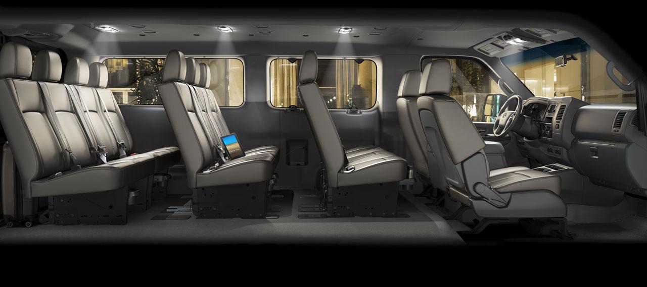 Nissan Passenger Van >> Photos Of Antique Cars And The Latest: 2012 Nissan NV3500 HD Passenger Van