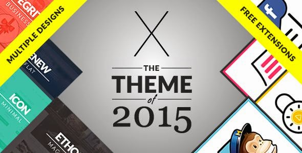 Multipurpose X WordPress Themes 2015