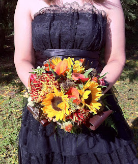 Autumn Wedding Bouquet by Stein Your Florist Co.
