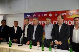La alianza PRO-UCR-Frente Cívico formalizó la fórmula Aguad-Baldassi