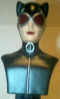 Front close up of Catwoman PEZ