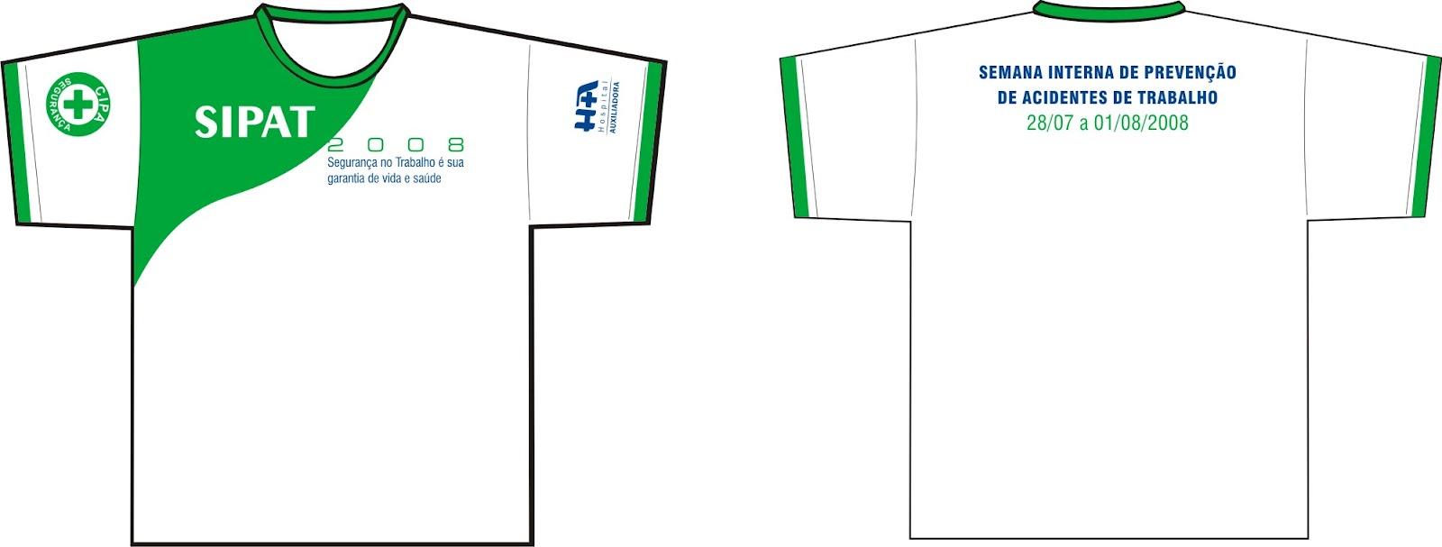 Camiseta Sipat Design do mato Claudiney Ferreira De Souza