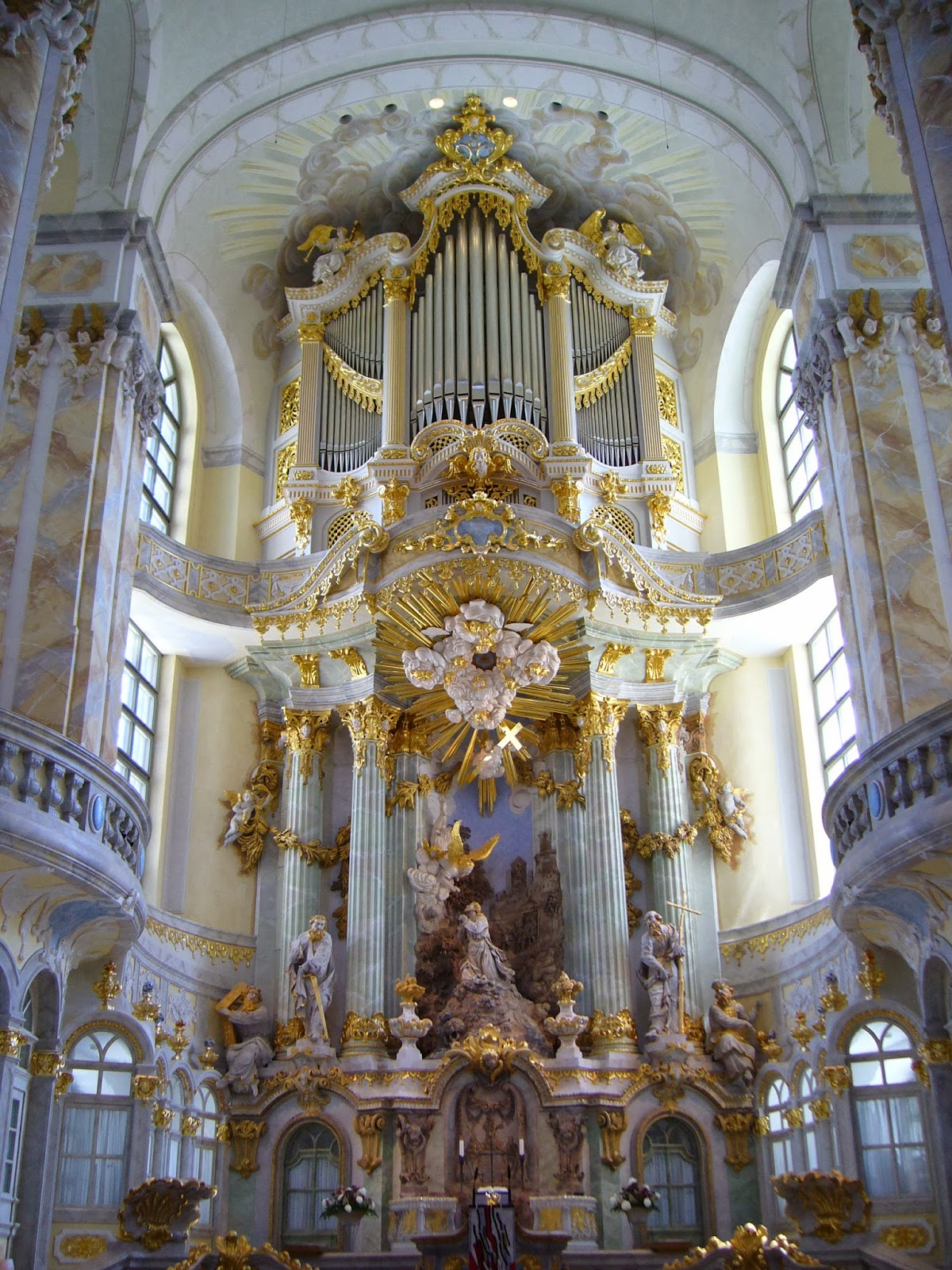Baroque Interior Architecture German Baroque