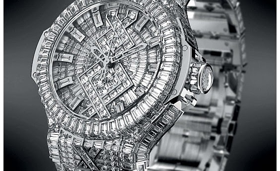 Hublot Diamond watch