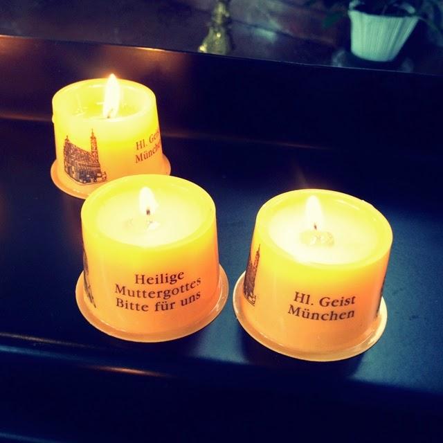 Wenn Wir In Einer Anderen Stadt Sind, Zünden Wir Immer Kerzen In Der Kirche  An Und Beten. Denn, Schutzengel Kann Man Ja Immer Brauchen ...