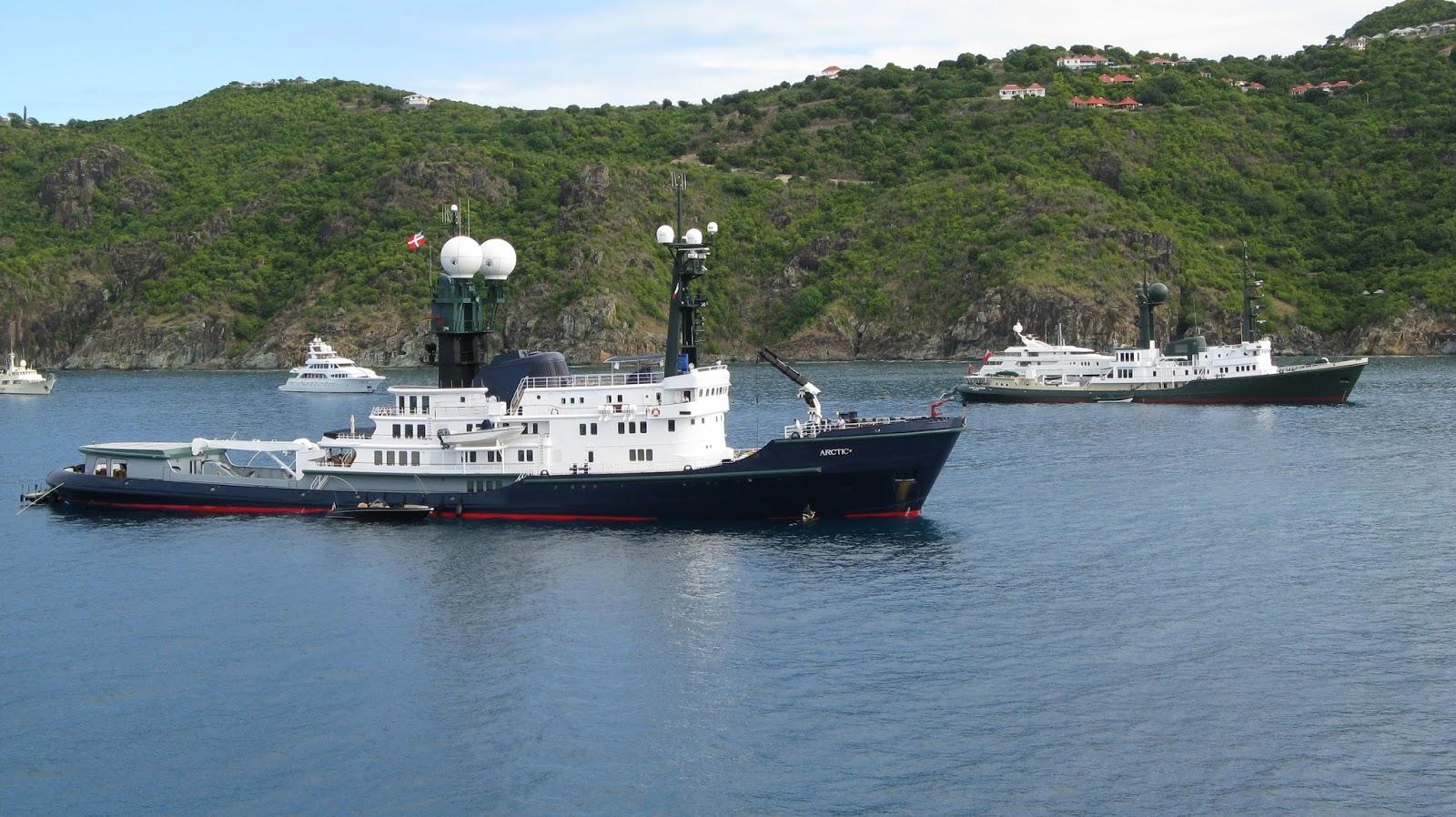 Superyacht ARCTIC P