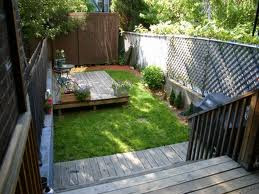 Elegant Small Backyard  Design