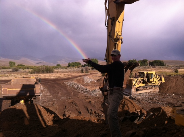 Rainbows And Gold Mining