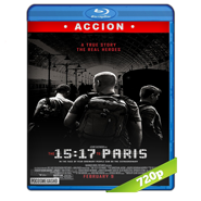15:17 Tren a París (2018) BRRip 720p Audio Dual Latino-Ingles