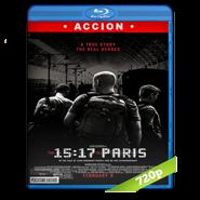 15:17 Tren a París (2018) BRRip 720p Audio Dual Latino-Ingles