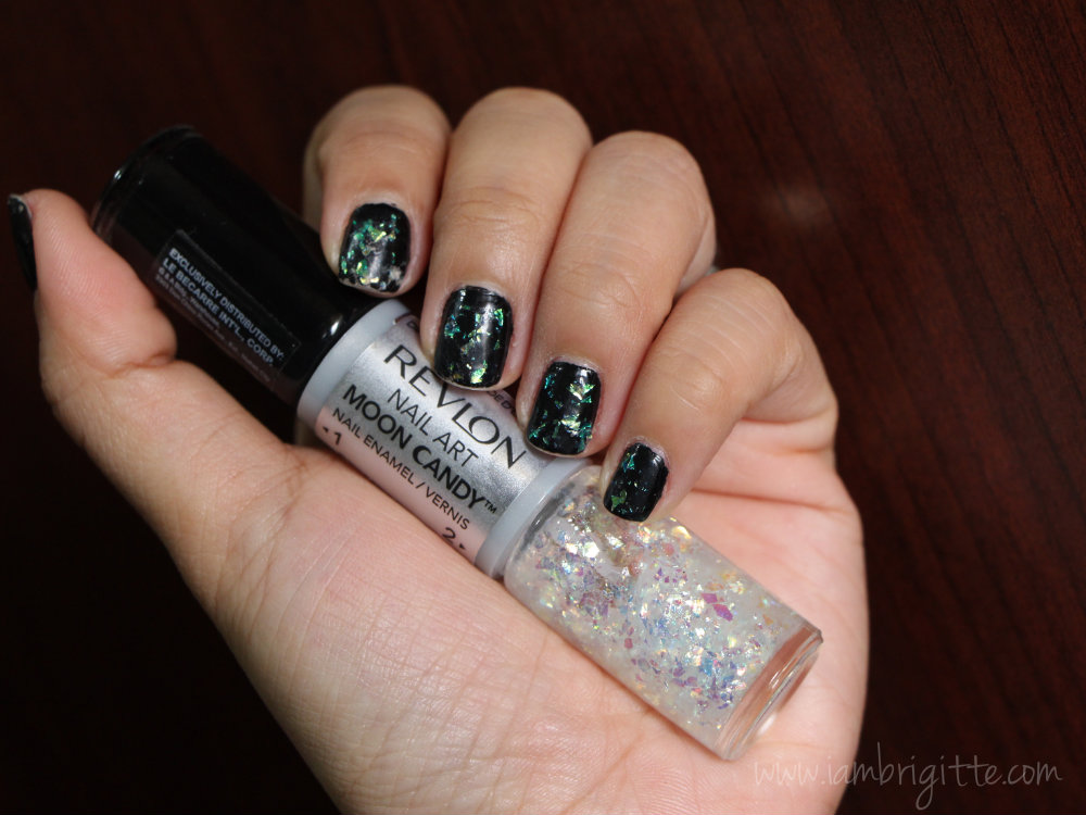 Iambrigitte Revlon Nail Art Moon Candy And Expressionist