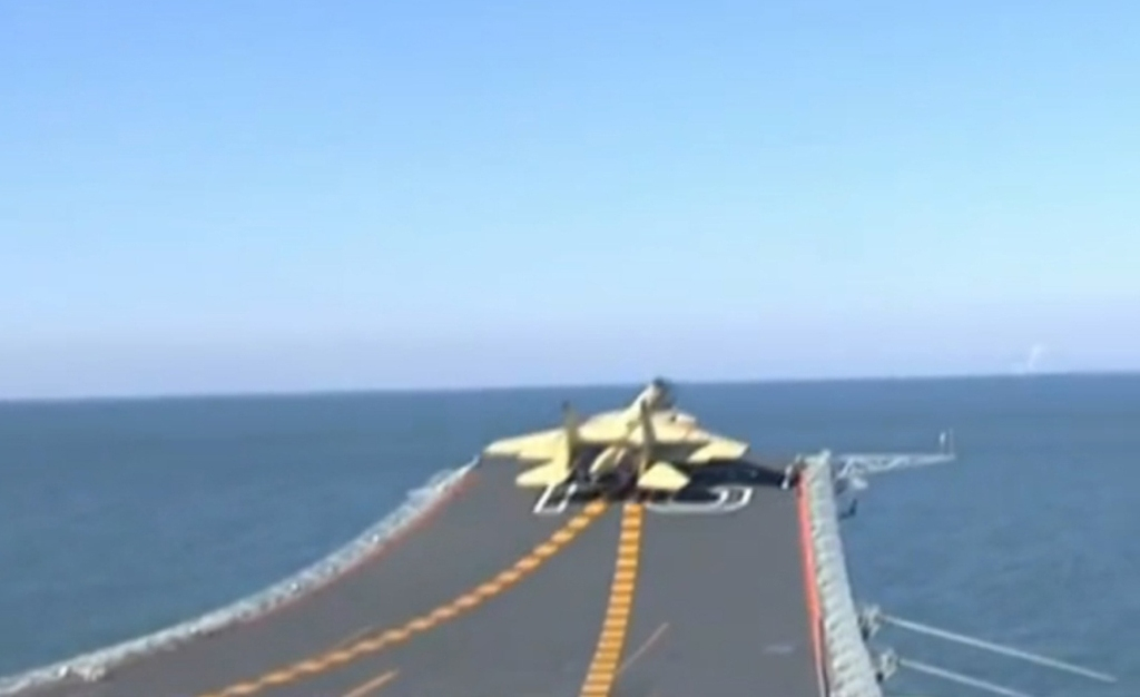 Chinese Flying Sharke Fighterchina Aircraft Carrier Liaoning
